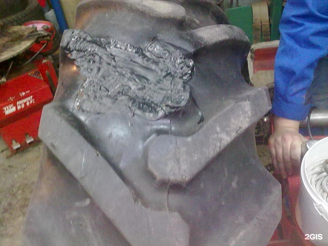 Восстановление протектора шины своими руками
