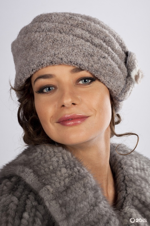 Вязаные зимние шапки женские своими руками