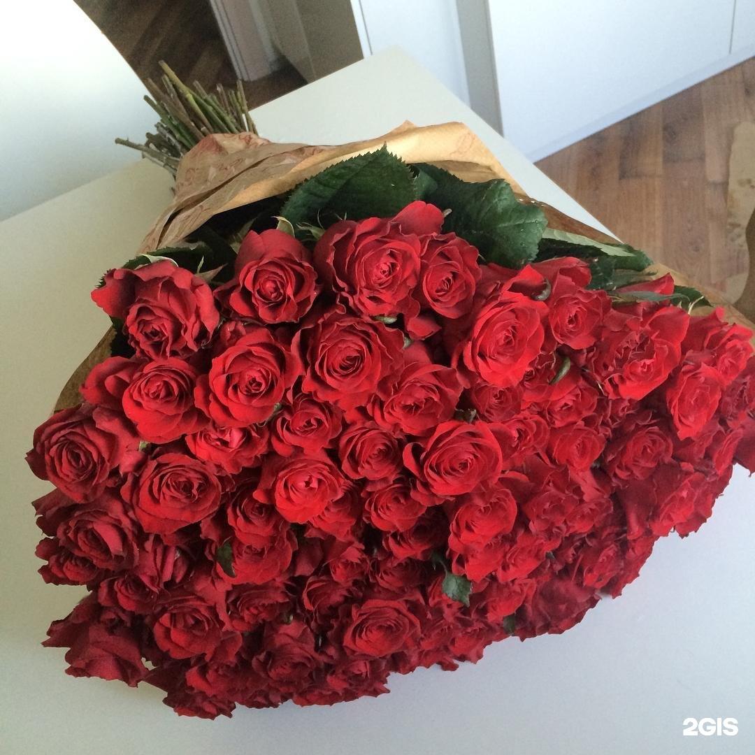Большой букет цветов на фото