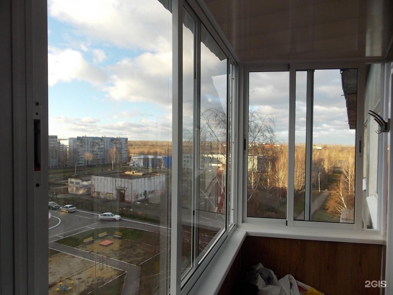 Остекление балконов в пензе - москва - строительные услуги.