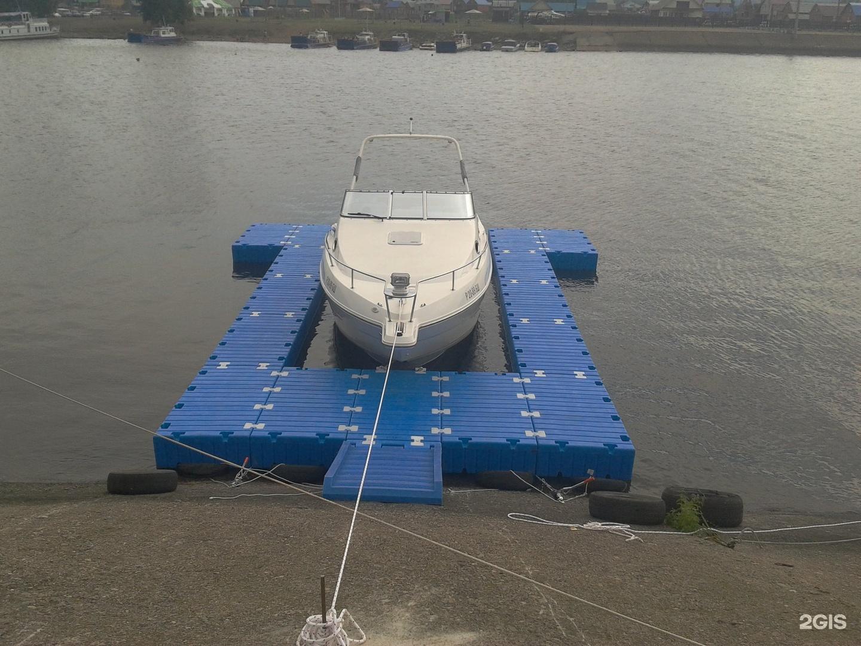 Сделать причал для лодки