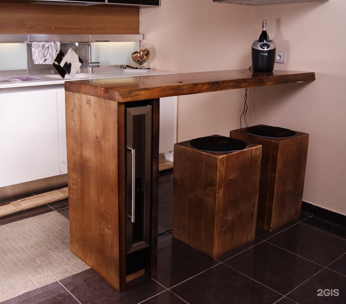 Складная барная стойка на кухне своими руками фото