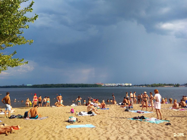 Фото городского пляжа в ставрополе