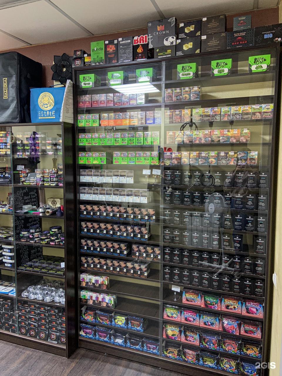 магазины табачных изделий в красноярске