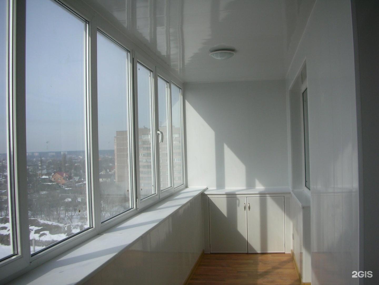 Фото каталог интерьеров и проектов: балконы лоджии.