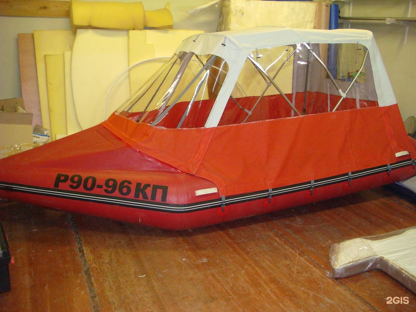 производство тентов на лодки яхты
