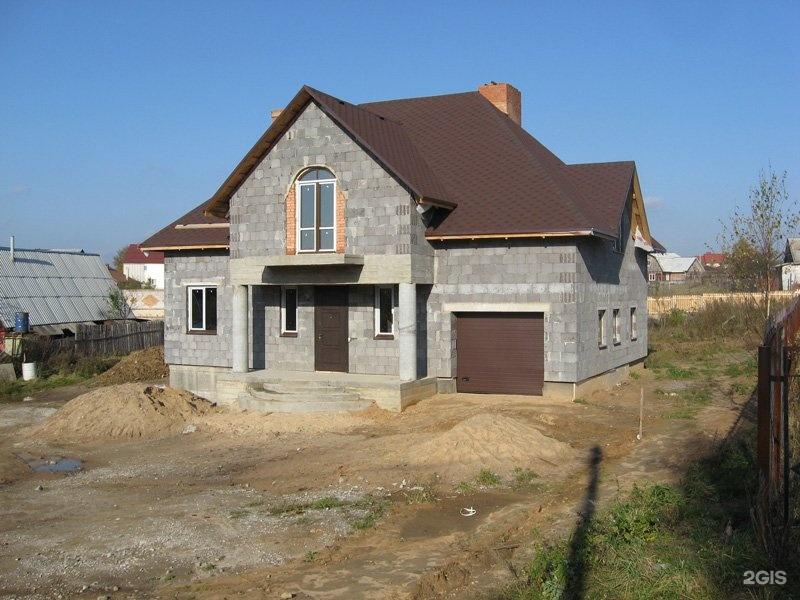 дом из керамзитобетона фото