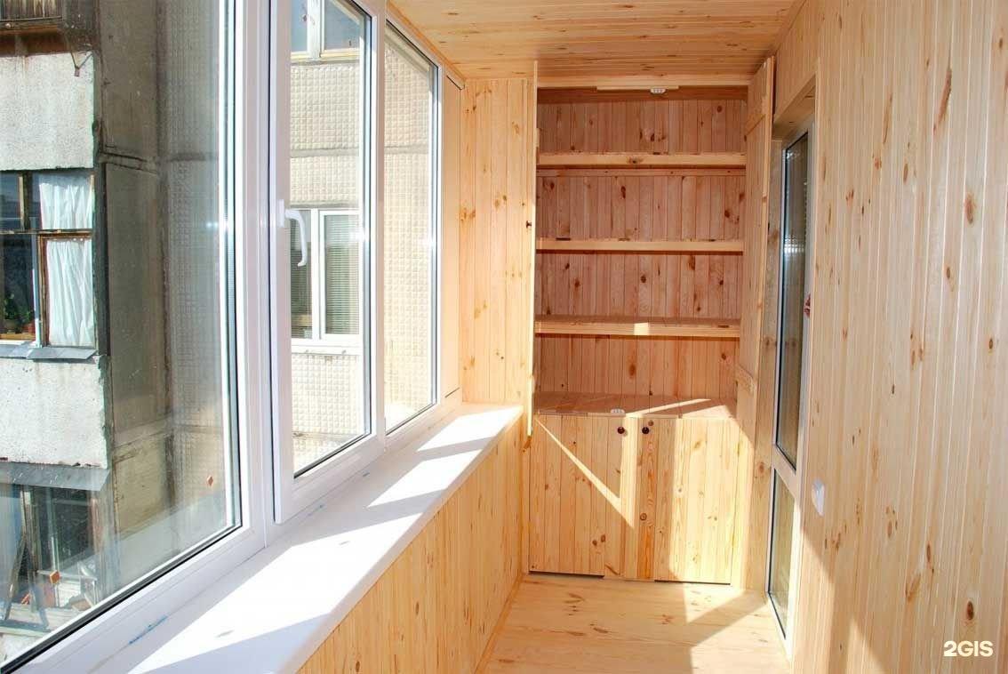 Отделка балконов внутри и снаружи москва.