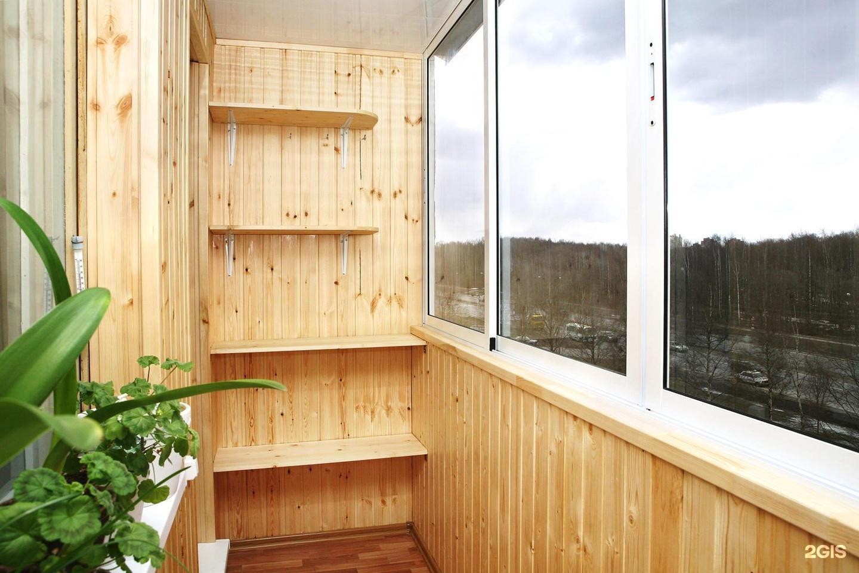 Отделка балкона внутри - выбор подходящего материала.