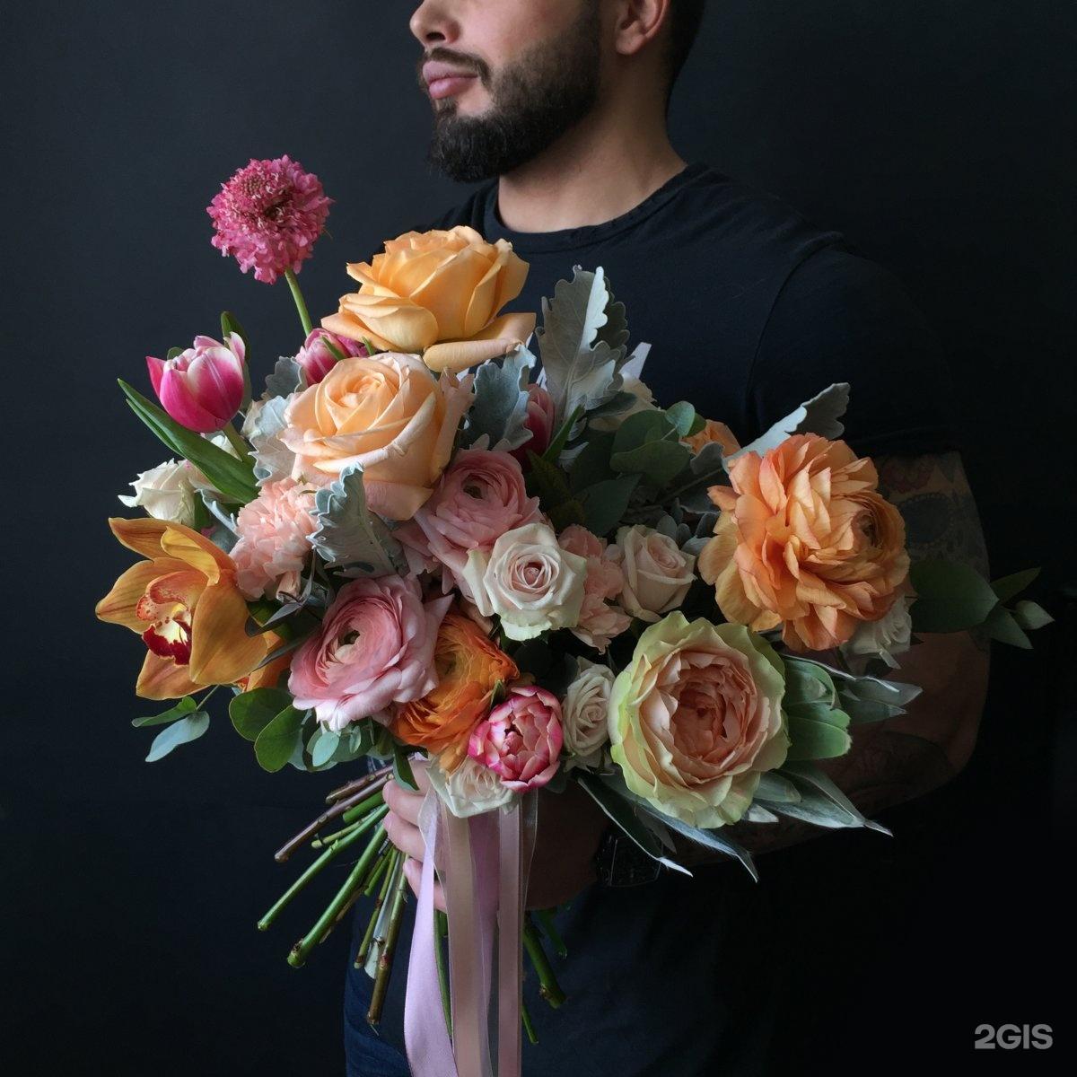 Курьерская доставка цветов по москве и области